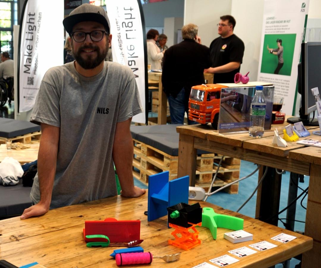 Spontan-Aussteller auf der RehaCare – Makers Help Care